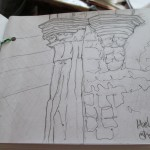 5 Hollyrood Church sketch