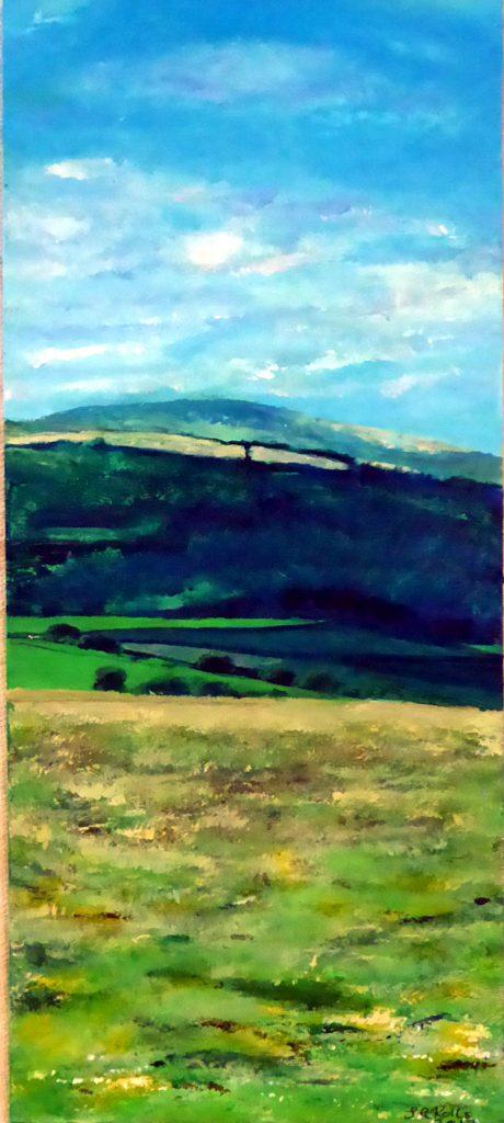 Dorset Landscape painting Jacqueline Rolls