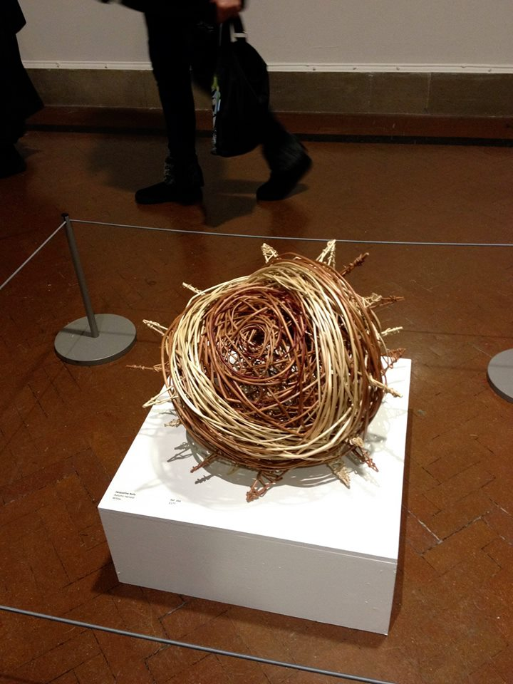 chestnut willow sculpture by Jacqueline Rolls