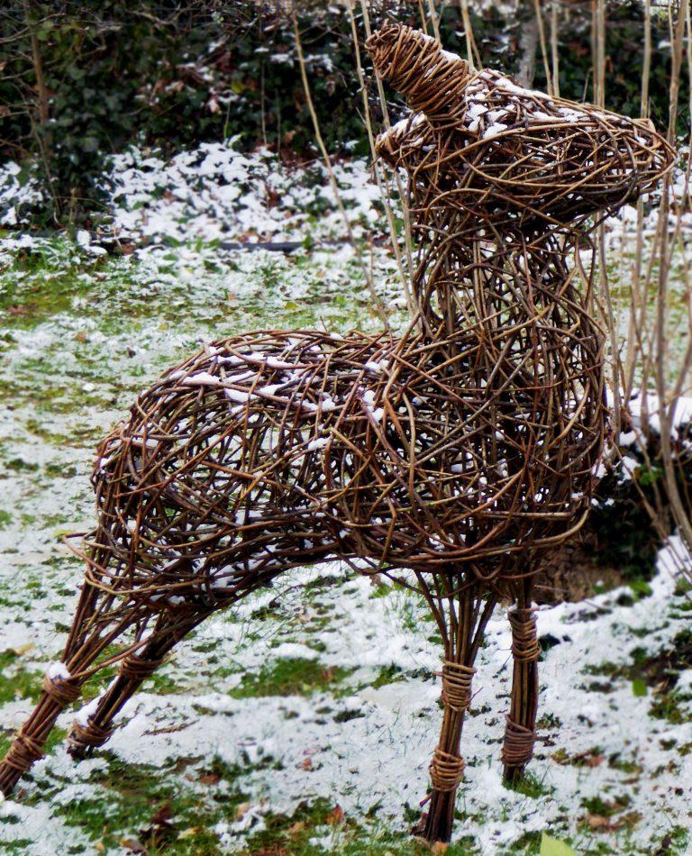 deer in the snow1