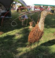 pic of large willow bird taken at Arlesford agricultual show